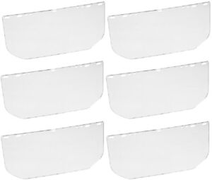 Msa Safety 10107913 Adjustable Headgear Replacement Faceshield Quantity 6
