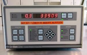 Met One A2408 1 115 1 Laser Particle Counter W hach Ultra Analytics Rht Probe