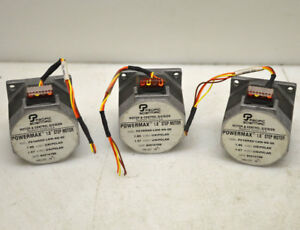lot Of 3 Pacific Scientific P21nrxd lnn ns 00 Micro Dc Stepper 1 8 Step Motor