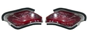 Under Rear Reflector Lights Lamp For Toyota Yaris Vios Sedan 2007 2012
