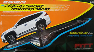 Side Vent Simulator For Mitsubishi Montero Pajero Sport 2015 2018