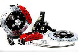 C5 Corvette Big Brakes By Baer Pro 6 Piston Front Big Brake Kit Red Calipers