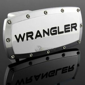 Jeep Wrangler Tow Hitch Cover Plug Cap 2 Trailer Receiver Engraved Billet Bolts