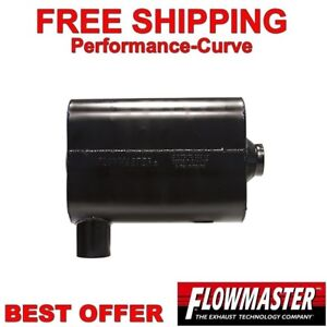 Flowmaster Super 44 Series Stainless Steel Muffler 2 5 S c 8425461