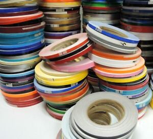 Solid 50m Roll Sticky Self Adhesive Pin Stripe Vinyl Decal Line Tape