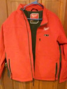 Milwaukee 201r 20l M12 Red gray Heated Jacket Large jacket Only
