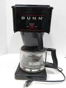 Bunn B10 b Black Coffee Maker Glass Carafe