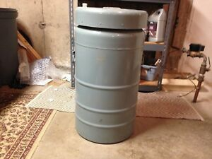 Union Carbide 12 Gallon Lr 40 Cryogenic Tank Complete W 6 Inserts