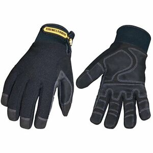Youngstown Outdoor Waterproof Plus Performance Warm Winter Glove Black Medium