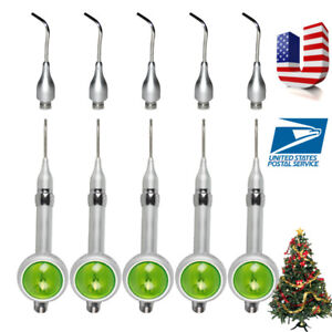 5x Usa 2 H Dental Hygiene Air Polishing Polisher Handpiece Prophy Jet Extra Tips