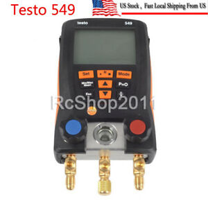 Usa Refrigerantion Digital Manifold Gauge Meter Testo 549 Hvac Gauge 0560 0550