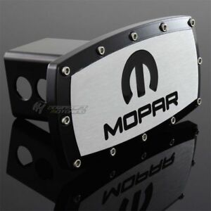 Dodge Mopar Hitch Cover Plug Cap 2 Trailer Tow Receiver W Allen Bolts Design