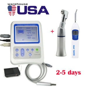 Dental Endodontic Apex Locator Root Canal Treatment Finder Handpiece Pulp Tester
