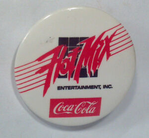 Hot Mix Entertainment Coke Coca Cola Pin Badge 1.5