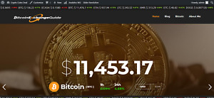 Established Profitable Crypto Coins Online Business Turnkey Website