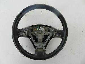 04 09 Mazdaspeed Mazda 3 Speed Steering Wheel Gt Leather Grey With Buttons A56