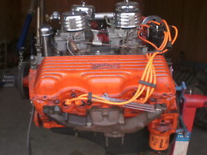 1958 348 Engine Serial 3857655 W 409 Components Hotrod Ratrod Material