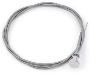 Edelbrock 8013 Universal Choke Cable 72 Long Polished Knob