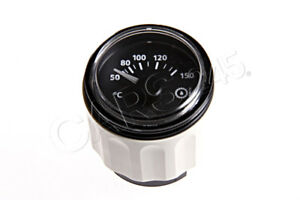 Vdo Viewline Transmission Oil Temp Gauge Eu Black 150 Celsius 12v A2c60100107