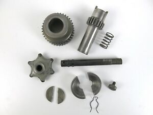 South Bend 9 10k Lathe Apron Clutch Worm Gear Assembly Complete