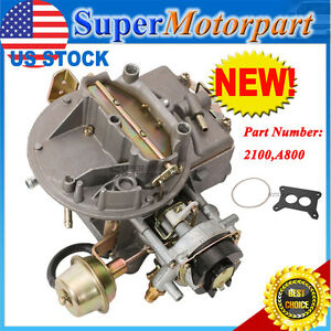 Carburetor 2100 For Ford 289 302 351 Jeep 360 Engines 2 Barrel 1964 1978
