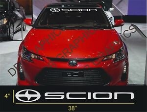 1 Scion Windshield Decal Sticker Fr S Tc Xb Large