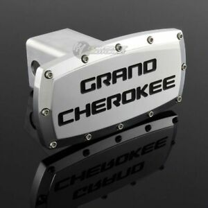 Jeep Grand Cherokee Hitch Cover Plug Cap 2 Trailer Receiver Engraved Billet
