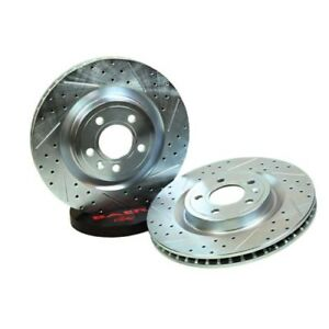 Baer Brakes 54036 020 Sport Rotor Rear For 94 04 Cobra Bullitt Mach1