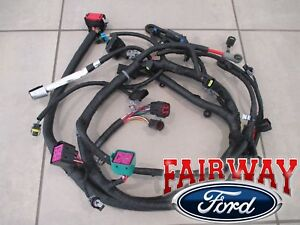 04 Super Duty Oem Ford Engine Wiring Harness 6 0l Built After 9 23 03 W O Heater