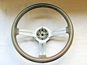 76 77 Oldsmobile Buick Skylark Gs Regal 15 Tan 3 Spoke Sport Steering Wheel