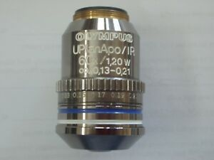 Very Rare Uplanapo ir 60x Water Immersion Objective For Olympus Bx Microscope