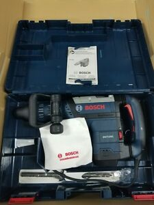 Bosch 14 5 Amp Corded Sds max Demolition Hammer W handle Case Dh712vc