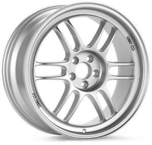 Enkei Rpf1 17x8 5x100 35mm Offset Silver Wheel 3797808035sp