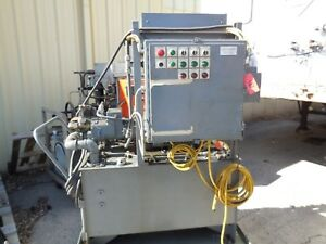 30 Hp Hydraulic Power Unit Portable Test Control Station Oilgear Pvw34lsaycnn