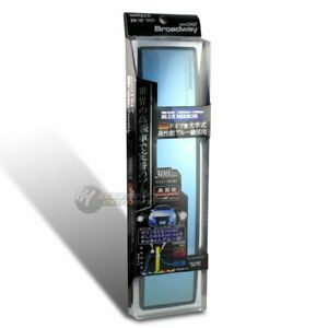 Broadway 300mm Convex Blue Tinted Interior Clip On Rear View Mirror Universal