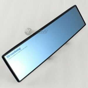 Broadway 300mm Convex Blue Tinted Interior Clip On Rear View Mirror Universal E