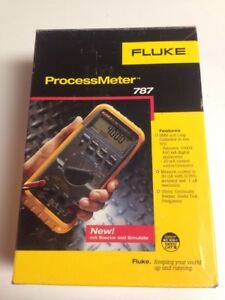 Fluke 787 Processmeter Process Meter Loop Calibrator W Ma Source Dmm