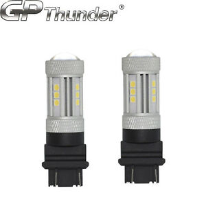 2x 1200 Lumens 3157 3057 3457 High Power Led White Turn Signal Tail Lights Bulbs