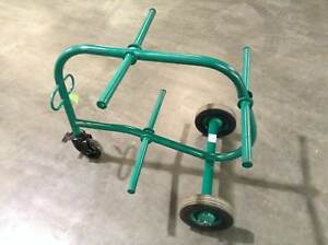 Greenlee 909 six 6 Spool Spindle Wire Dispenser Caddy Wire Cart