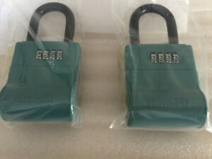 New Shurlok Real Estate Lock Box Key Storage Realtor Lockbox lot Of 2