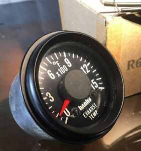Vintage Banks Power Exhaust Temp Gauge D 1176125087 Egt Diesel Meter New In Box