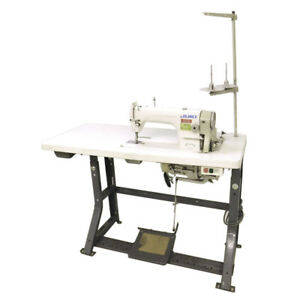 Juki Ddl 8700 Single Needle Auto lube Sewing Machine W 1 2 Hp Motor And Table
