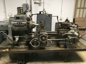 Warner And Swasey No 5 Turret Lathe better Photos