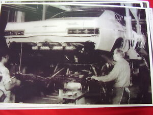 1966 Chevrolet Assembly Line Impala Caprice 11 X 17 Photo Picture