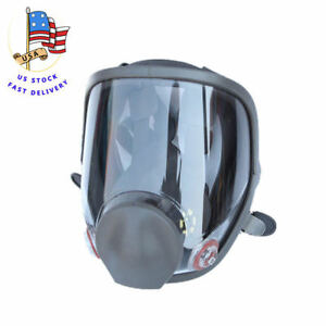 Us Full Face 6800 Large Size Vision Dust Facepiece Respirator Painting Gas Mask