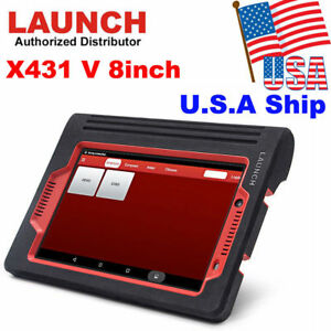 Usa Shipping Launch X431 V 8inch Tablet Obd2 Full System Auto Code Scanner Tool