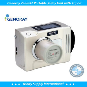 Genoray Zen px2 Portable Handheld X ray Dental Unit System Fda Heavy duty