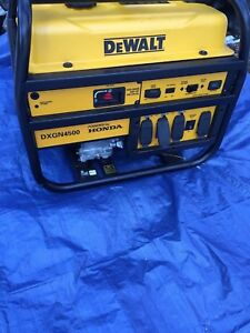 Dewalt Honda Engine Gas Generator