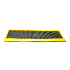 Enpac 5765 ye In line 4 Drum Spill Pal 2 X 8 Containment W Plastic Grates