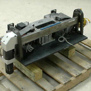 Yaskawa Servo Motor Driven Motorized Brake Press W Smc Cylinders
